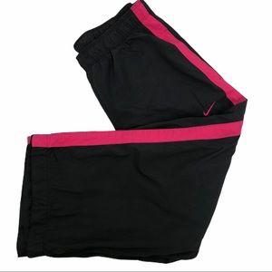 Nike Athletic Pants Size XS (0-2) Black/Pink Women